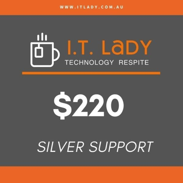 it lady silver support package